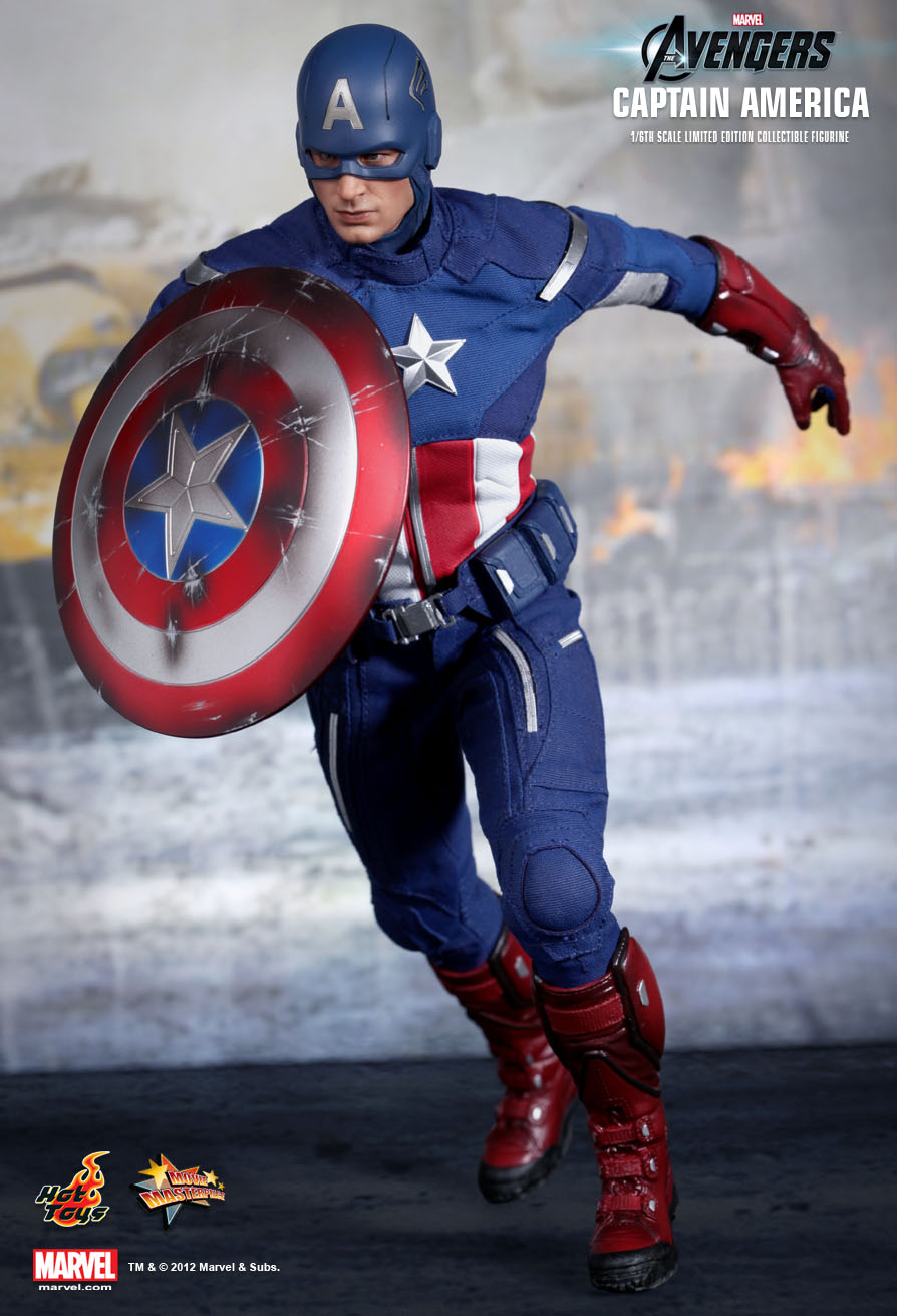 Captain America - 1/6 Scale - Avengers - Hot Toys
