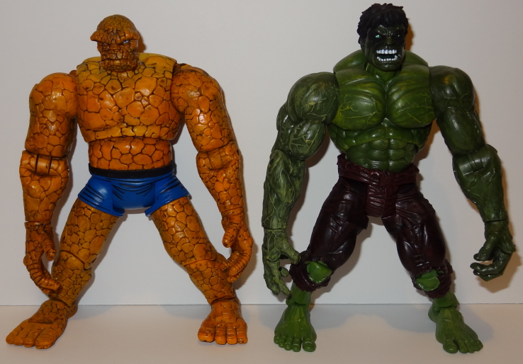 Hulk and Thing - Marvel Legends