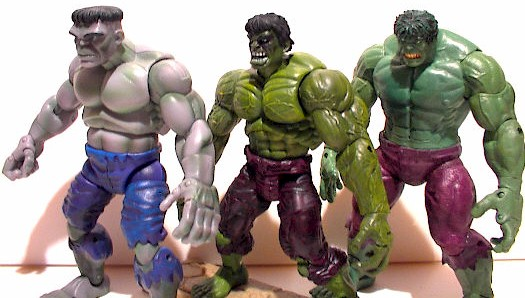 Marvel Legends Hulks