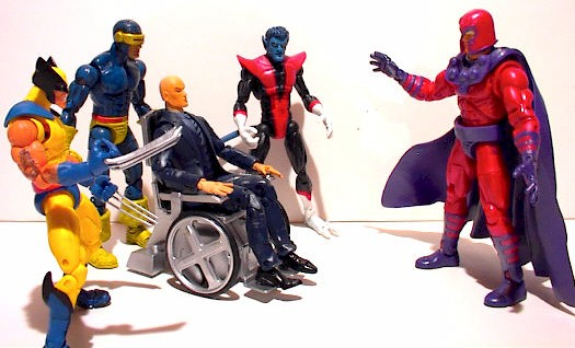 X-Men face to face with Magneto