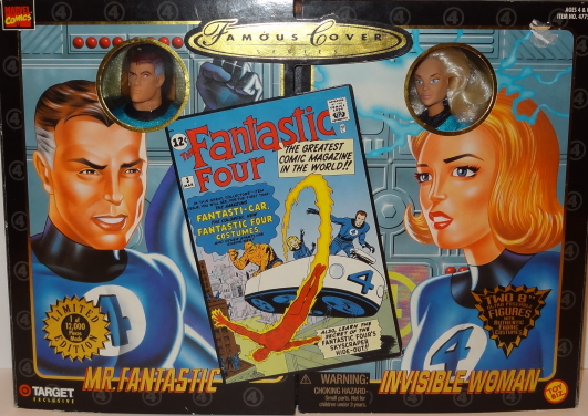 Mr. Fantastic and Invisible Woman - Famous Cover