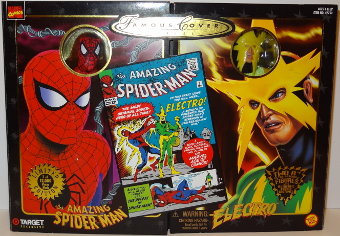 Spider-Man and Electro - Famous Cover