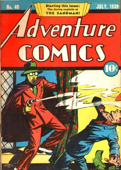 Adventure Comics 40 - for sale - mycomicshop