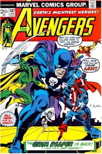 Avengers 107 - for sale - mycomicshop