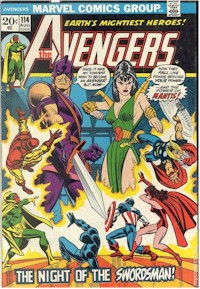 Avengers 114 - for sale - mycomicshop