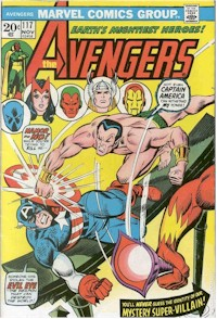 Avengers 117 - for sale - mycomicshop
