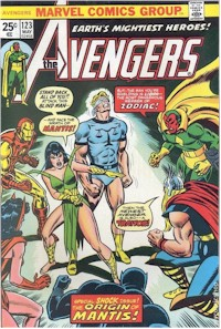 Avengers 123 - for sale - mycomicshop