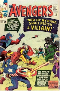 Avengers 15 - for sale - mycomicshop