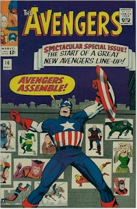 Avengers 16 - for sale - mycomicshop