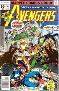Avengers 164 - for sale - mycomicshop
