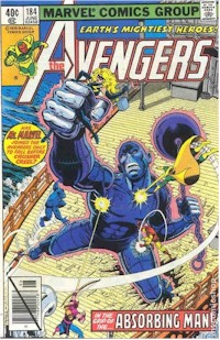 Avengers 184 - for sale - mycomicshop