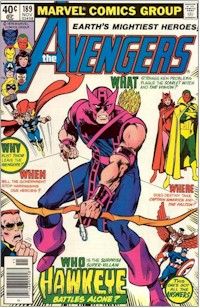 Avengers 189 - for sale - mycomicshop