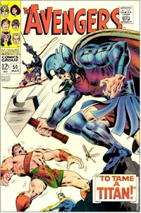 Avengers 50 - for sale - mycomicshop
