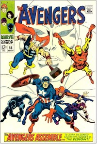 Avengers 58 - for sale - mycomicshop
