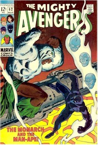 Avengers 62 - for sale - mycomicshop