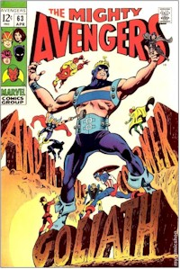 Avengers 63 - for sale - mycomicshop