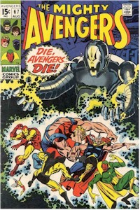Avengers 67 - for sale - mycomicshop