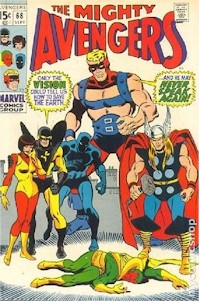 Avengers 68 - for sale - mycomicshop