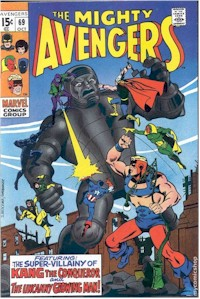 Avengers 69 - for sale - mycomicshop