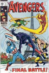 Avengers 71 - for sale - mycomicshop