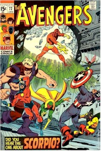 Avengers 72 - for sale - mycomicshop