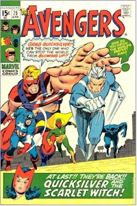 Avengers 75 - for sale - mycomicshop