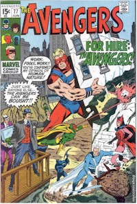 Avengers 77 - for sale - mycomicshop