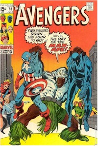 Avengers 78 - for sale - mycomicshop