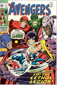Avengers 79 - for sale - mycomicshop