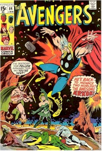 Avengers 84 - for sale - mycomicshop