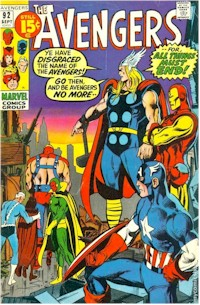 Avengers 92 - for sale - mycomicshop