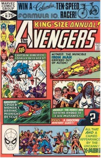 Avengers Annual 19 - for sale - mycomicshop