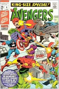 Avengers Annual 4 - for sale - mycomicshop