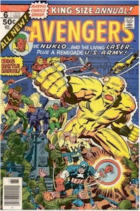 Avengers Annual61 - for sale - mycomicshop