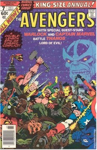 Avengers Annual 7 - for sale - mycomicshop