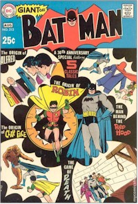 Batman 213 - for sale - mycomicshop