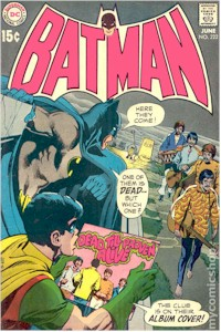 Batman 222 - for sale - mycomicshop