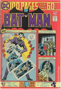 Batman 260 - for sale - mycomicshop