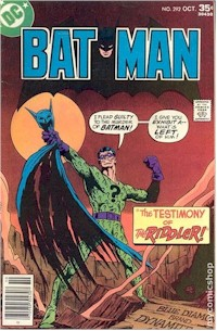 Batman 292 - for sale - mycomicshop