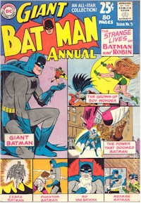 Batman Annual 5 - for sale - mycomicshop