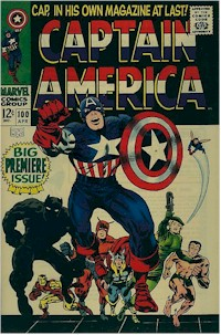 Captain America 100 - for sale - mycomicshop
