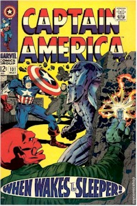 Captain America 101 - for sale - mycomicshop