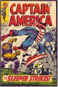Captain America 102 - for sale - mycomicshop