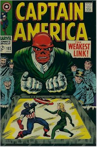 Captain America 103 - for sale - mycomicshop