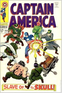 Captain America 104 - for sale - mycomicshop