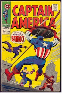 Captain America 105 - for sale - mycomicshop