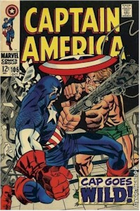 Captain America 106 - for sale - mycomicshop