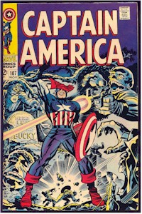 Captain America 107 - for sale - mycomicshop