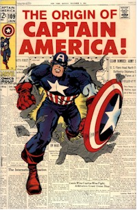 Captain America 109 - for sale - mycomicshop