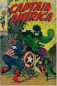Captain America 110 - for sale - mycomicshop